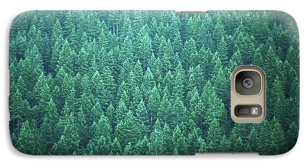 Galaxy Case featuring the photograph Evergreen by Laurie Stewart