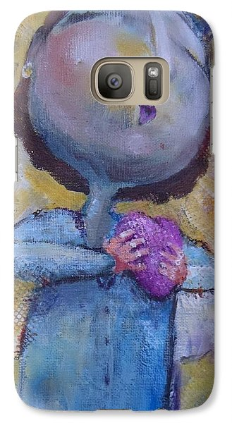 Galaxy Case featuring the painting Every Morning by Eleatta Diver