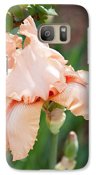 Galaxy Case featuring the photograph Everything Is Peachy by Sherry Hallemeier