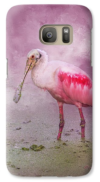 Spoonbill Galaxy S7 Case - Everything Is Rosie by Marvin Spates