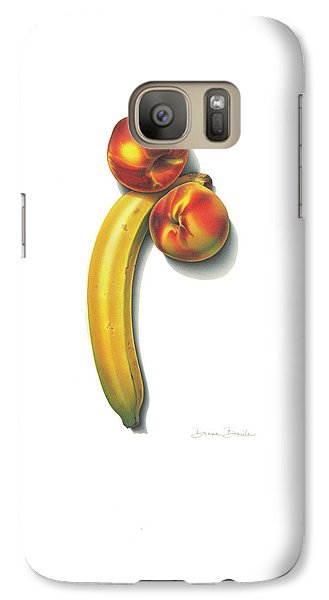 Eve's Favorite Fruit Galaxy S7 Case by Donna Basile