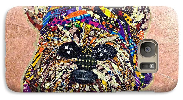 Galaxy Case featuring the tapestry - textile Ewok Star Wars Afrofuturist Collection by Apanaki Temitayo M