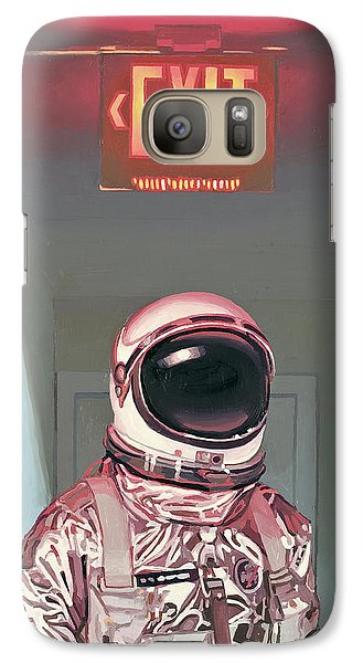 Science Fiction Galaxy S7 Case - Exit by Scott Listfield