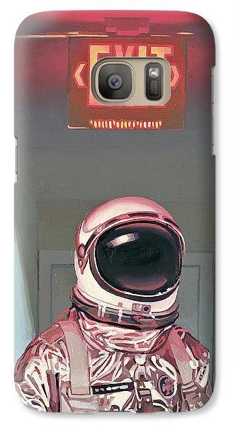 Astronaut Galaxy S7 Case - Exit by Scott Listfield