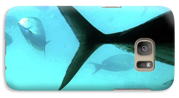 Exit Stage Left Galaxy Case by Sandy Taylor