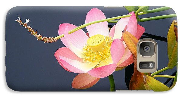 Galaxy Case featuring the photograph Exotic Waterlily by Margie Avellino
