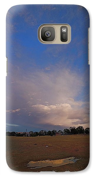 Galaxy Case featuring the photograph Exploding Thunderhead by John Norman Stewart