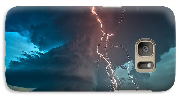Galaxy Case featuring the photograph Explosion Of Light by James Menzies
