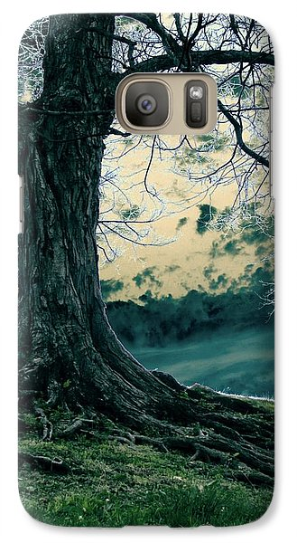 Galaxy Case featuring the digital art Exposed Roots by Misha Bean