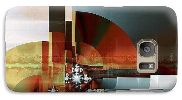 Galaxy Case featuring the digital art Exposition Internationale Paris by Richard Ortolano