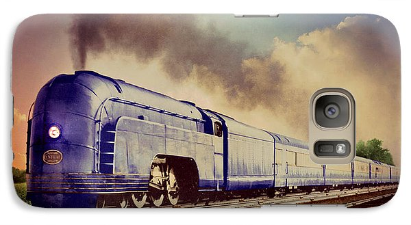 Galaxy Case featuring the photograph Express by Steven Agius