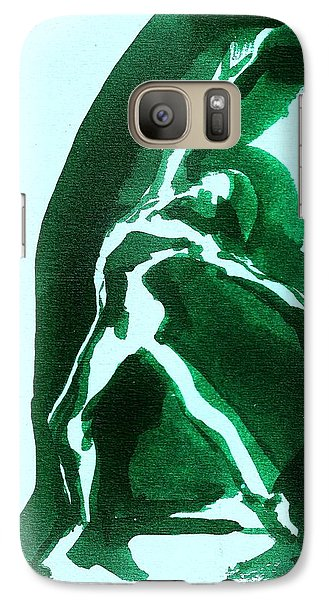 Galaxy Case featuring the drawing Expressions by Denise Fulmer