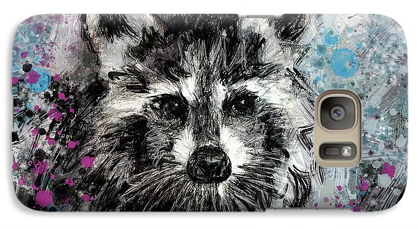 Expressive Raccoon Galaxy S7 Case