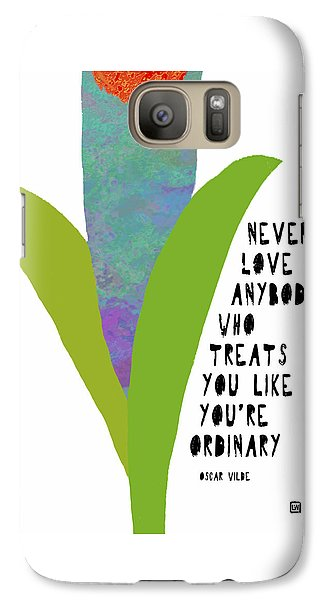 Galaxy Case featuring the painting Extraordinary Love by Lisa Weedn