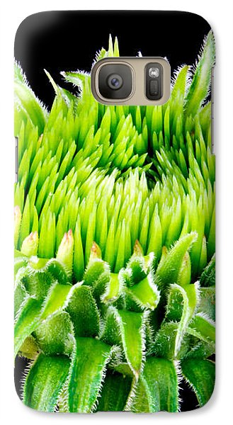 Galaxy Case featuring the photograph Extreme Green  by Jim Hughes