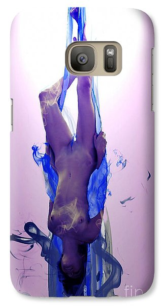 Galaxy Case featuring the painting Extreme Visions by Tbone Oliver