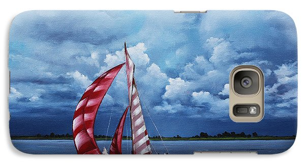 Galaxy Case featuring the painting Eye Candy by Rick McKinney