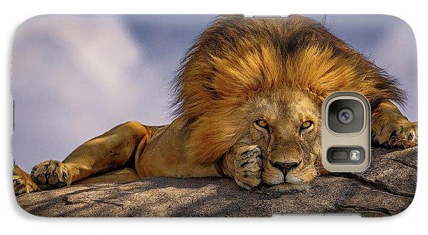 Eye Contact On The Serengeti Galaxy S7 Case