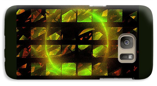 Galaxy Case featuring the digital art Eye In The Window by Victoria Harrington