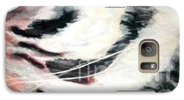 Galaxy Case featuring the painting Eye Of A Tiger  by Sheron Petrie