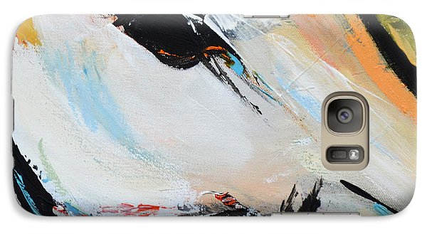 Galaxy Case featuring the painting Eye Of The Beholder by Cher Devereaux