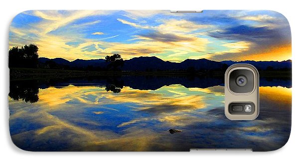 Galaxy Case featuring the photograph Eye Of The Mountain by Eric Dee