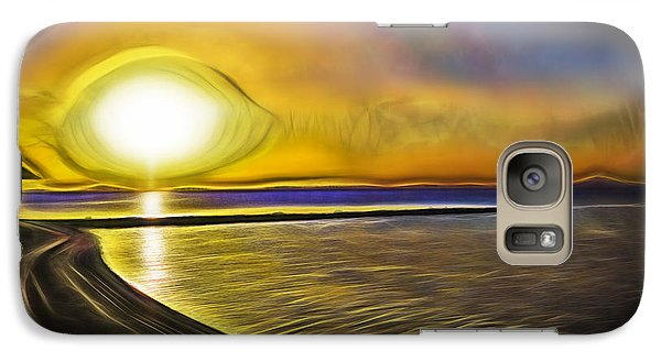 Galaxy Case featuring the photograph Eye Of The Sun by Scott Carruthers