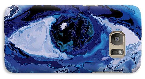 Galaxy Case featuring the digital art Eye by Rabi Khan