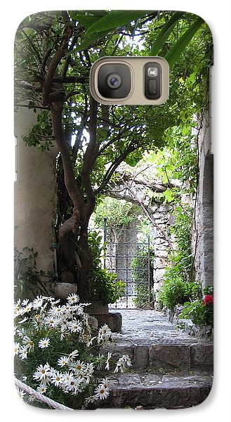 Galaxy Case featuring the photograph Eze Passageway by Carla Parris