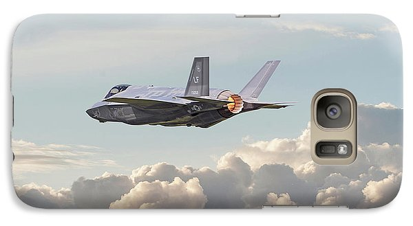 Galaxy Case featuring the photograph F35 -  Into The Future by Pat Speirs