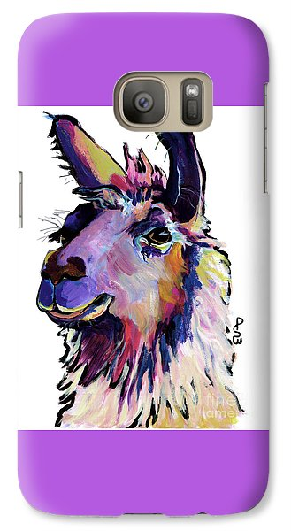 Llama Galaxy S7 Case - Fabio by Pat Saunders-White