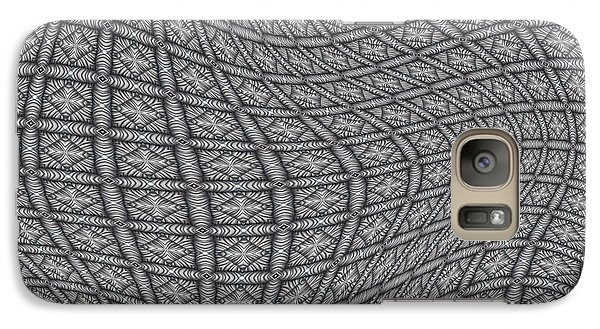 Galaxy Case featuring the digital art Fabric Design 19 by Karen Musick