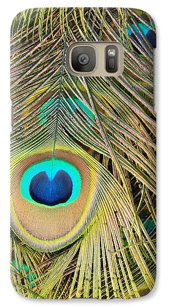 Galaxy Case featuring the photograph Fabulous Feathers by Margaret Bobb