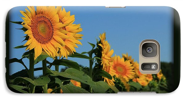 Galaxy Case featuring the photograph Facing East by Chris Berry