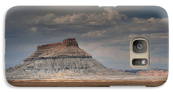 Galaxy Case featuring the photograph Factory Butte by Dan Mihai
