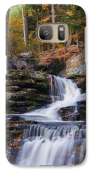 Galaxy Case featuring the photograph Factory Falls 2 by Mark Papke