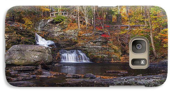 Galaxy Case featuring the photograph Factory Falls by Mark Papke