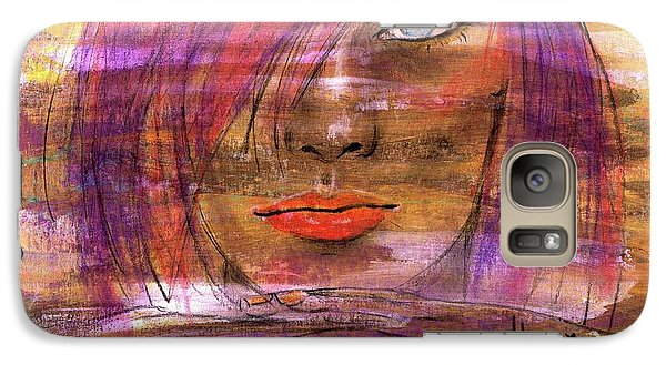 Galaxy Case featuring the painting Fadding Away by P J Lewis