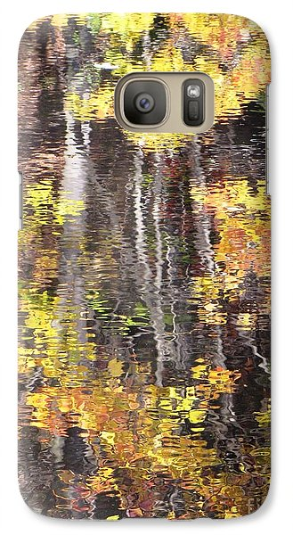 Galaxy Case featuring the photograph Fading Fall Water by Melissa Stoudt