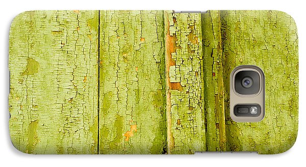 Galaxy Case featuring the photograph Fading Old Paint by John Williams