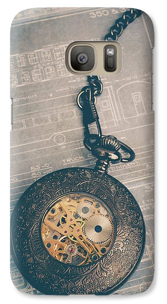 Galaxy Case featuring the photograph Fading Time by Edward Fielding
