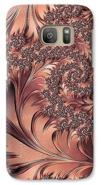 Galaxy Case featuring the digital art Faerie Forest Floor I by Susan Maxwell Schmidt