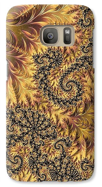 Galaxy Case featuring the digital art Faerie Forest Floor II by Susan Maxwell Schmidt