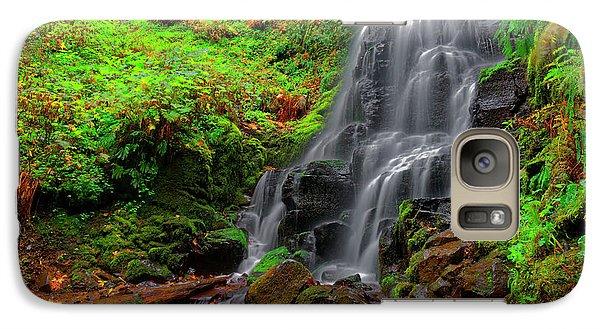 Galaxy Case featuring the photograph Fairy Falls Oregon by Jonathan Davison