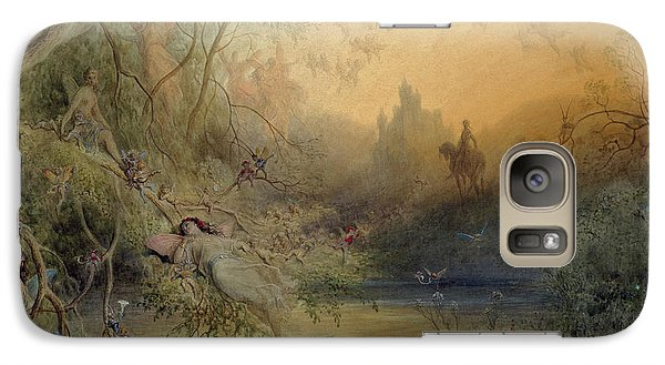 Fairy Land Galaxy Case by Gustave Dore