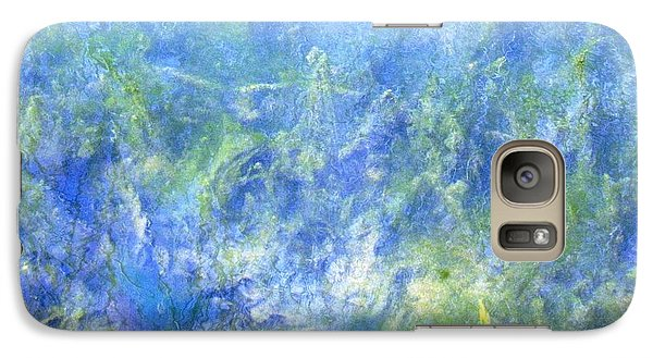 Galaxy Case featuring the photograph Fairy Ring Beneath The Surface by Melissa Stoudt