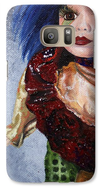 Galaxy Case featuring the painting Faith by Jane Autry