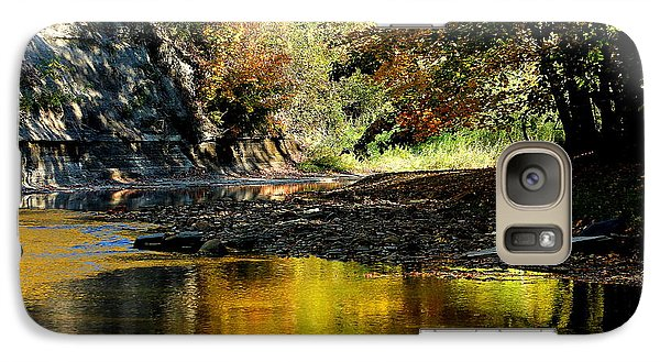 Galaxy Case featuring the photograph Fall At Big Creek by Bruce Patrick Smith