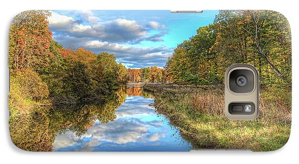 Galaxy Case featuring the photograph Fall At Brunswick Lake  by Brent Durken