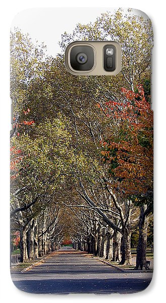 Galaxy Case featuring the photograph Fall At Corona Park by Suhas Tavkar